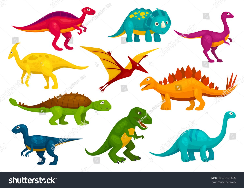 1500x1161 Dinosaurs Cartoon Collection. Cute T Rex, Tyrannosaurus, Pterosaur