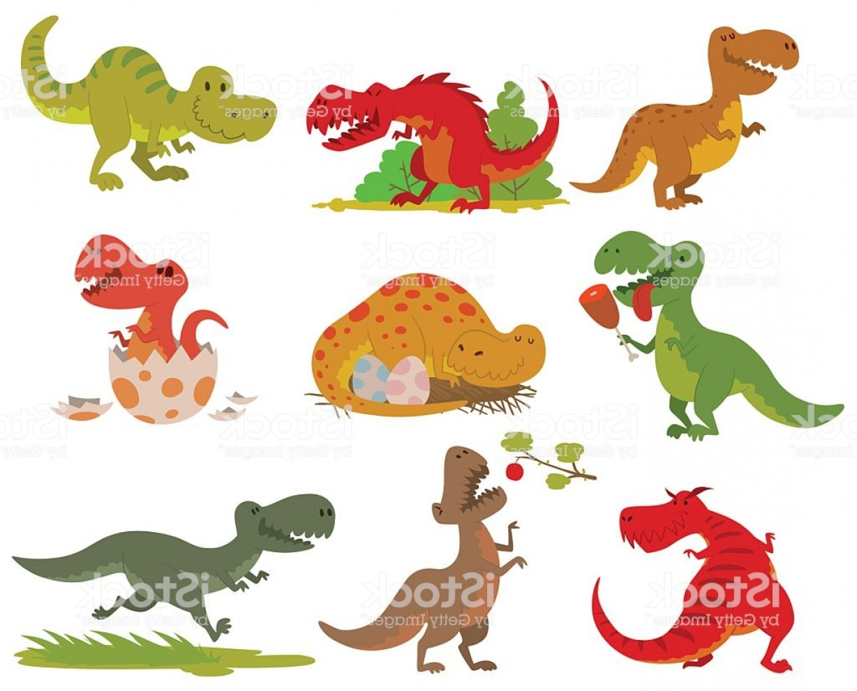 1228x991 T Rex Dinosaur Vector Set Gm Lazttweet