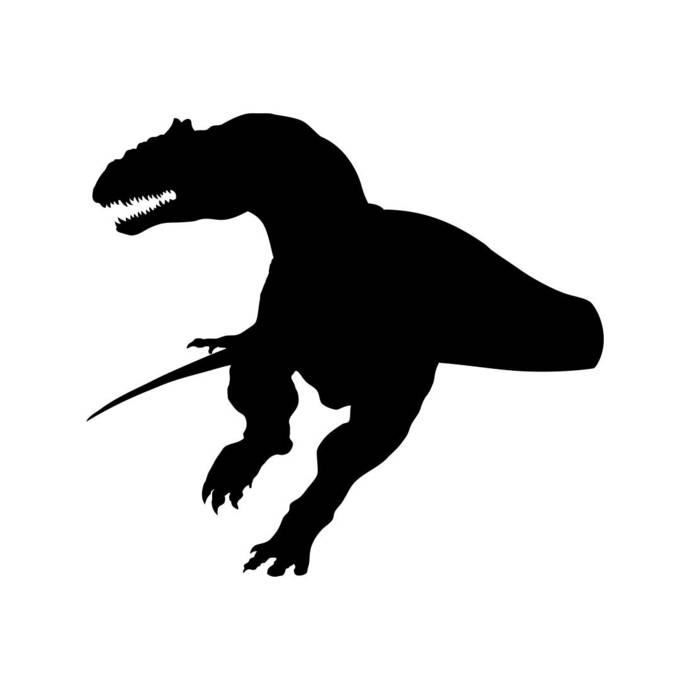690x690 Dinosaur Dino T Rex Graphics Svg Dxf Eps Png By Vectordesign On Zibbet