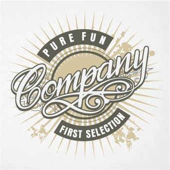 350x350 Pure Fun Company T Shirt Design In Vector Graphic Yougraph