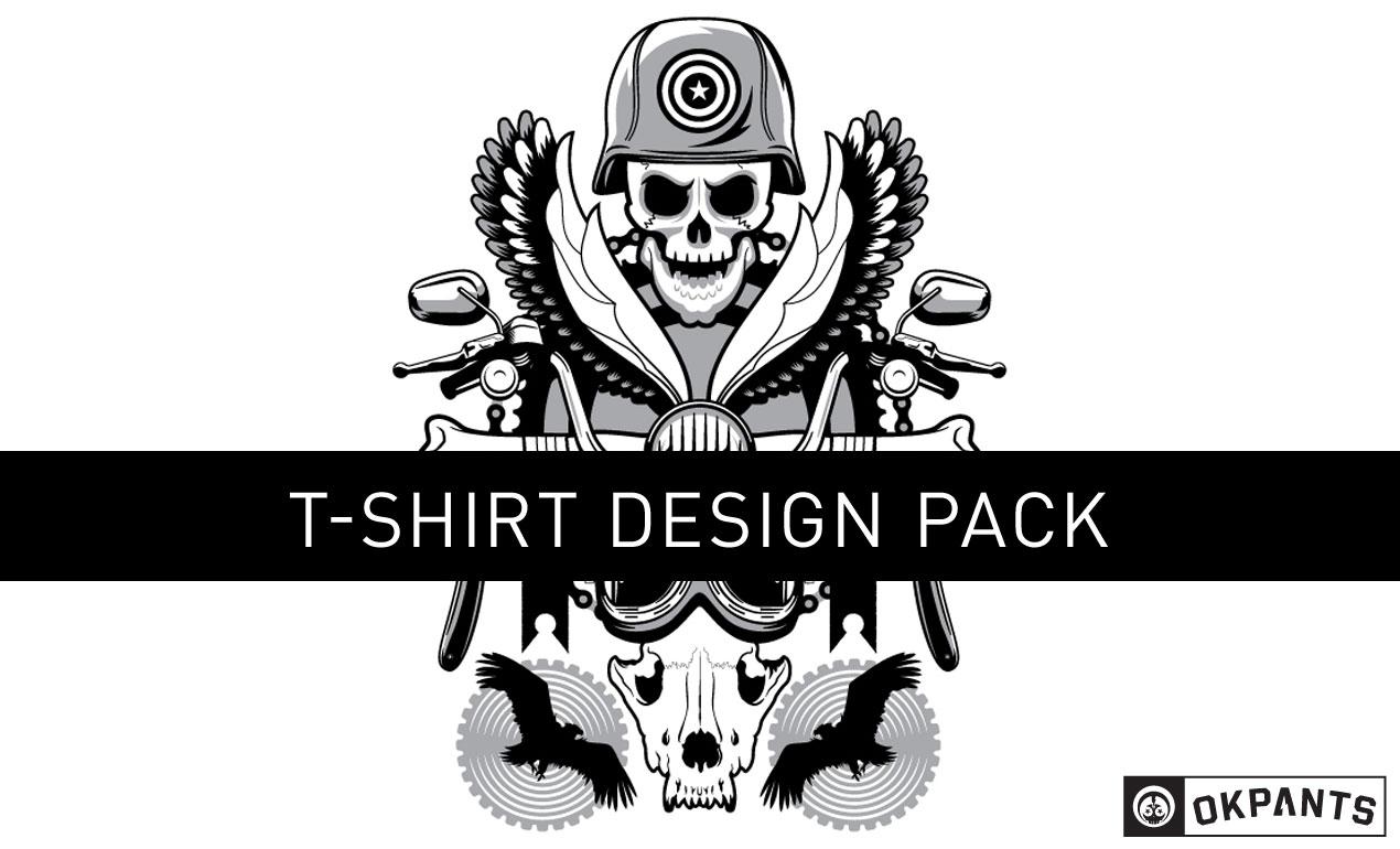 1270x770 Rock And Roll Vector Shirt Design