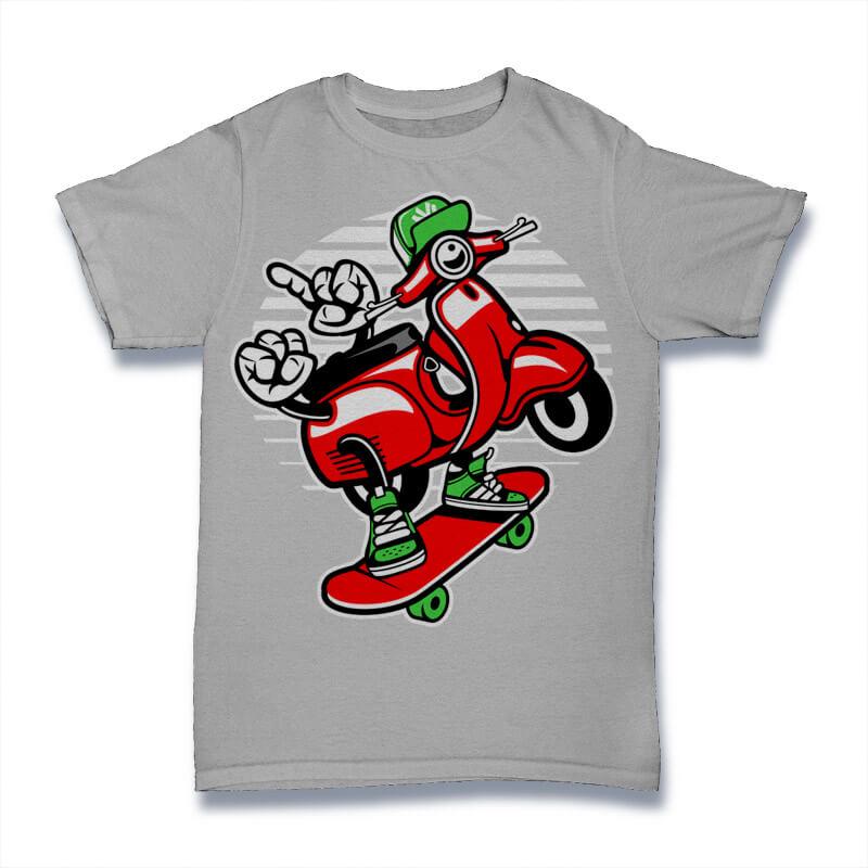 800x800 Cartoon Vector Tshirt Designs