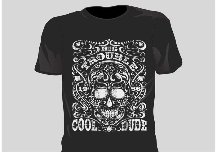 700x490 Free Vector Grunge T Shirt Design