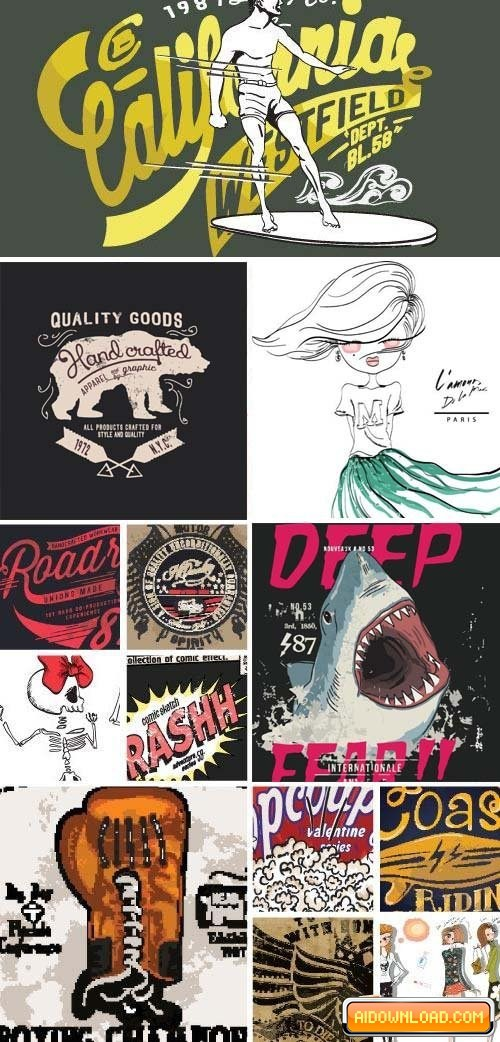500x1042 T Shirt Design 8, 25 X Eps Free Download Free Graphic Templates