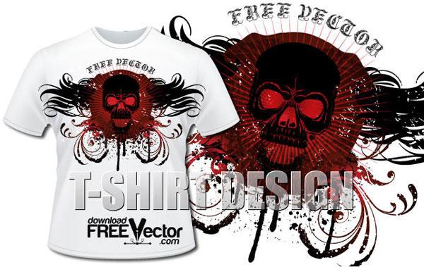 600x379 T Shirt Design Free Download 30 T Shirt Designs Vectors Download
