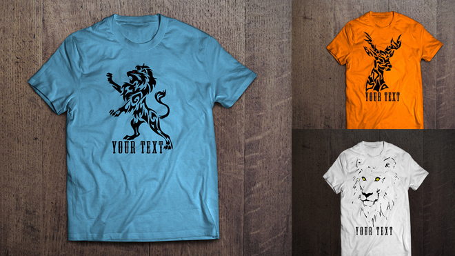 660x371 Free T Shirt Design Vector Collection For Graphic Projects