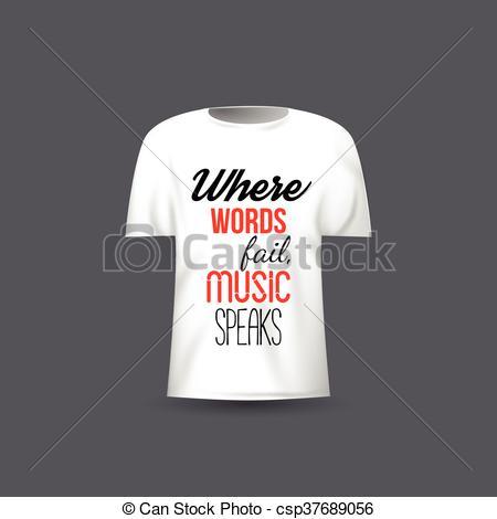 450x470 Musical Vector T Shirt Design Template Clipart Vector Csp Cool