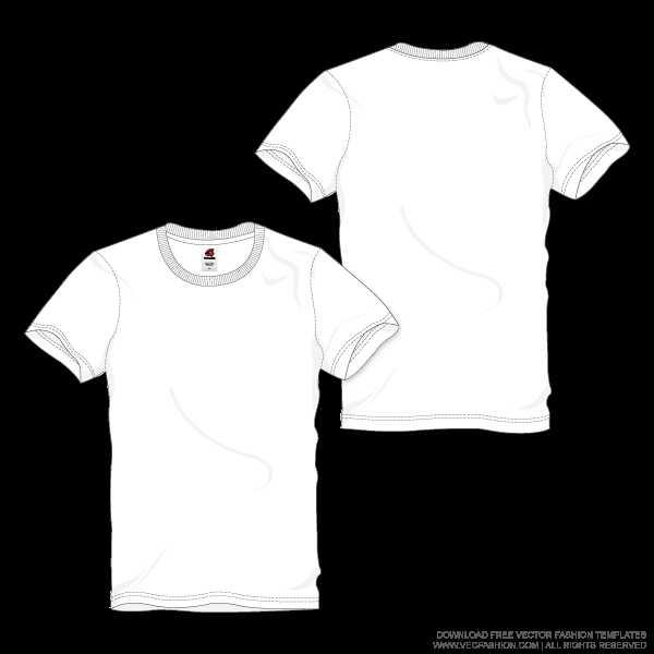 600x600 Blank T Shirt Design Template Psd New Men White Round Neck T Shirt