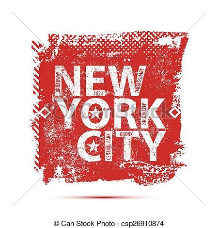 450x470 College New York Typography, T Shirt Graphics, Vectors.
