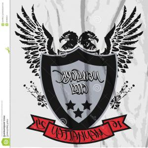 300x300 Extreme Sport Eagle Crest Shield T Shirt Graphic Vector Orangiausa