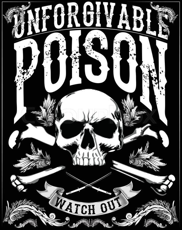 634x800 Skull Printskull Illustrationevil Skullconcert Postersskull