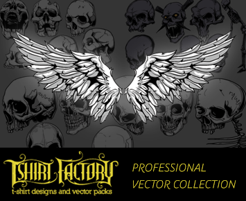 355x290 T Shirt Factory Professional Vector Collection (Extended License