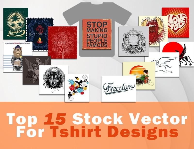 800x615 Top 15 Stock Vectors For T Shirt Design