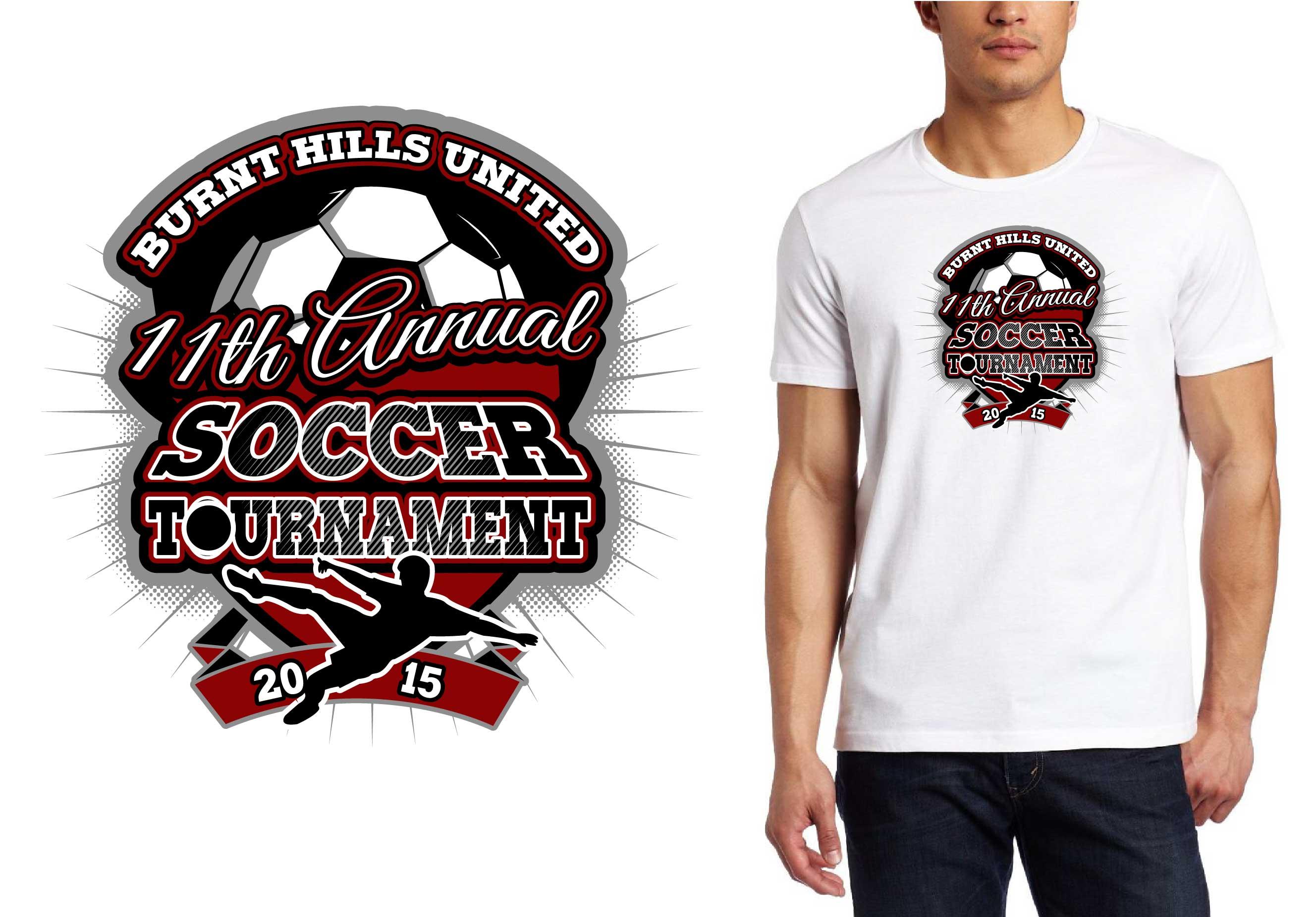 2656x1852 Best T Shirt Vector Logo Design For 2015 Burnt Hills United 11th