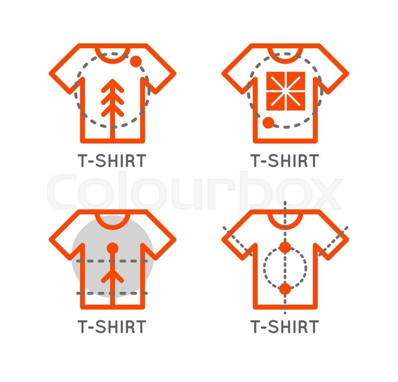 800x768 Vector T Shirt Logo Set. Online Shop Logo. Clothing Shop Vector