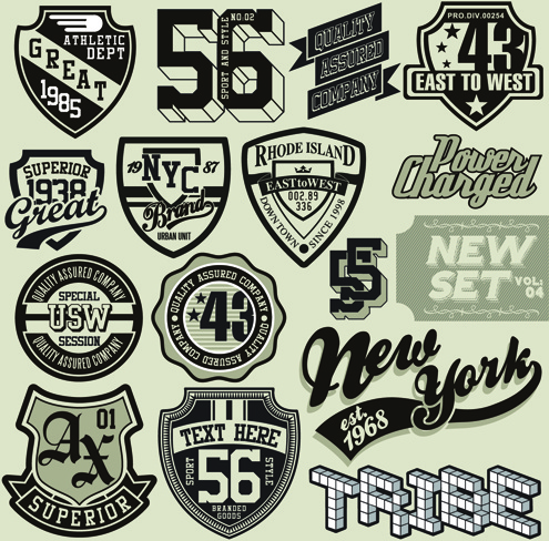 495x488 Vintage T Shirt Labels Creative Vector Free Vector In Encapsulated