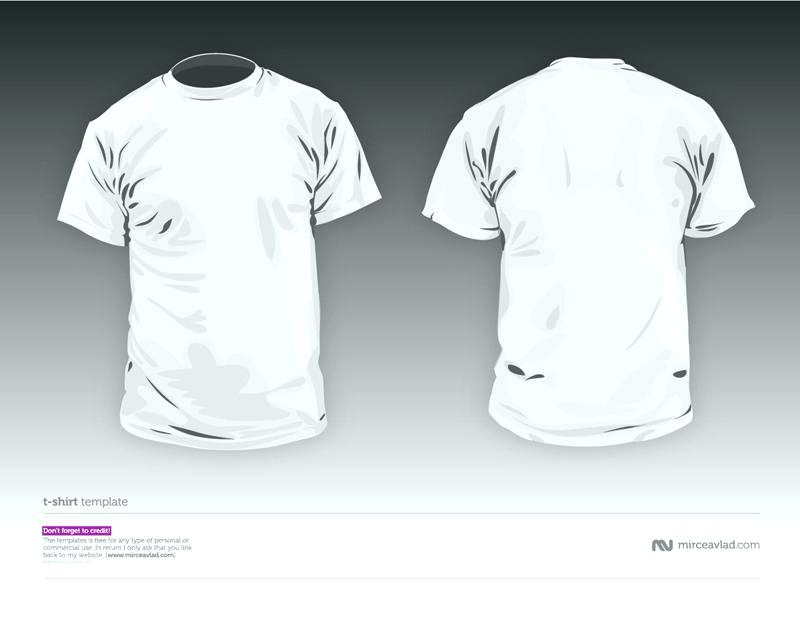 800x617 Free Vector Tshirt Template Long Sleeved Blank T Shirts In White