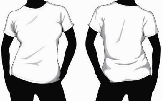 550x344 Gambar Terkait Percetakan T Shirt Mock Up Vector
