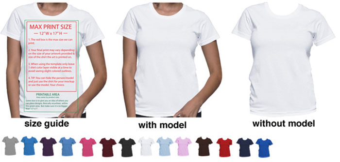 700x335 Blank T Shirt Template Photoshop Indesign T Shirt Template 54