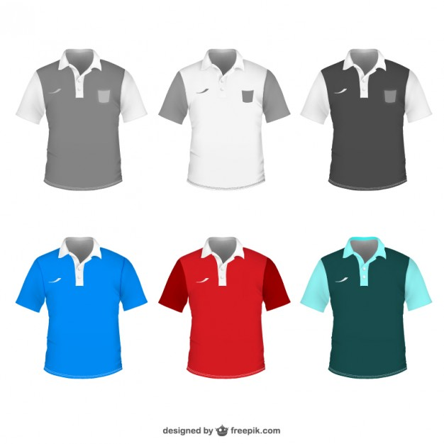 626x626 Polo Shirt For Men Vector Free Download