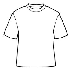 236x236 Collection Of T Shirt Drawing Template High Quality, Free
