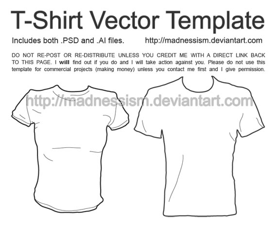 568x463 82 Free T Shirt Template Options For Photoshop And Illustrator