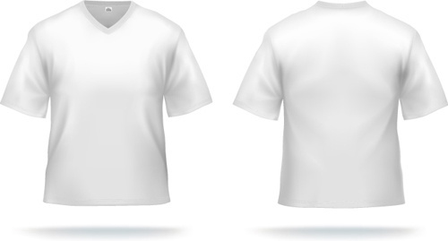 500x269 Vector T Shirt Template Svg Free Vector Download (99,474 Free