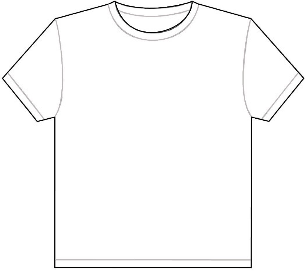 1048x932 Template Of Shirt