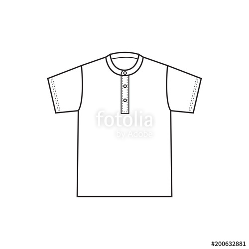 500x500 Blank T Shirt Template Vector Stock Image And Royalty Free Vector