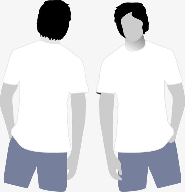 650x676 T Shirt Template Vector Material, T Shirt Template, Vector