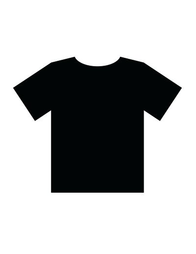 T Shirt Template Vector At Getdrawings Com Free For Personal Use T