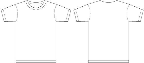 b227a3e2 568x248 Men T Shirt Template Vector Free Vector In Encapsulated Postscript