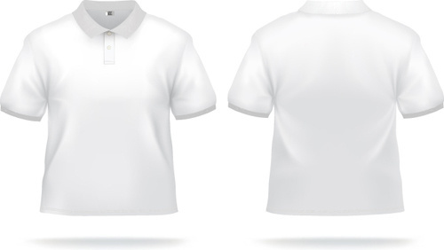 500x282 V Neck T Shirt Template Free Vector Download (15,034 Free Vector