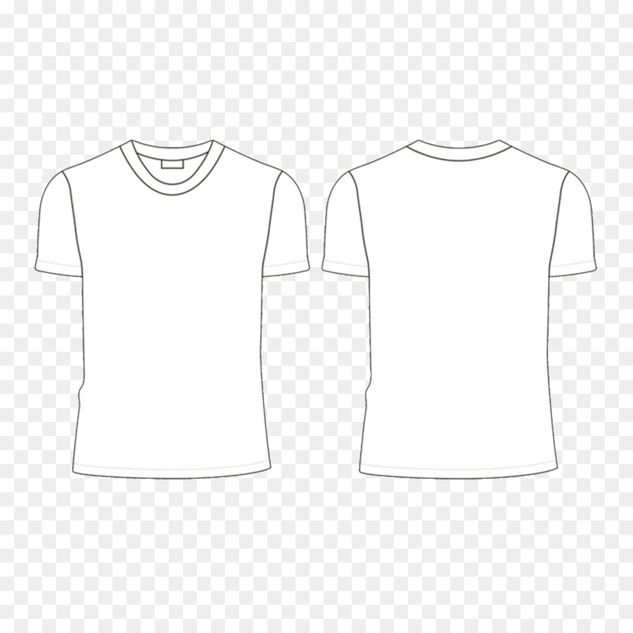 900x900 T Shirt White Collar Neck