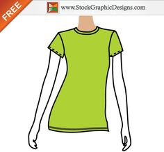 T Shirt Vector Free
