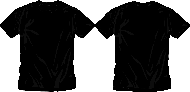black t shirt eps
