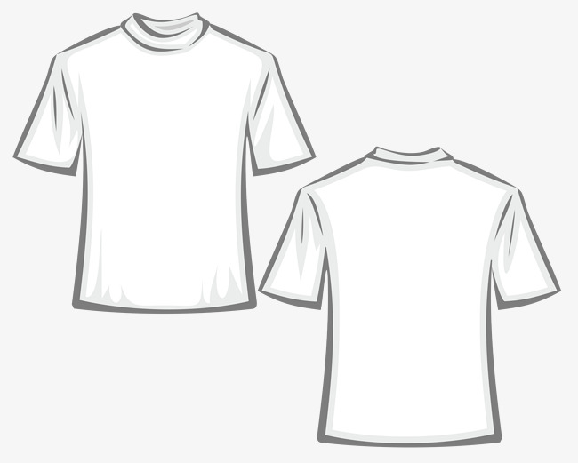 650x521 White Hand Painted Shirt Vector, Shirt Vector, Solid T Shirt, T