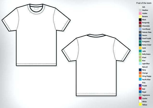 636x450 Free T Shirt Template Illustrator Polo T Shirt Template Free