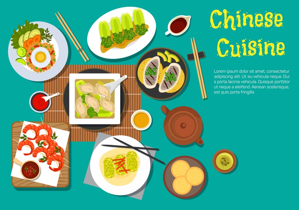 1024x721 Tabletop Cartoon Food Vector Free Download Eps Files