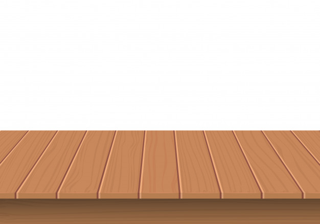 626x438 Wooden Table Top Isolated Vector Premium Download