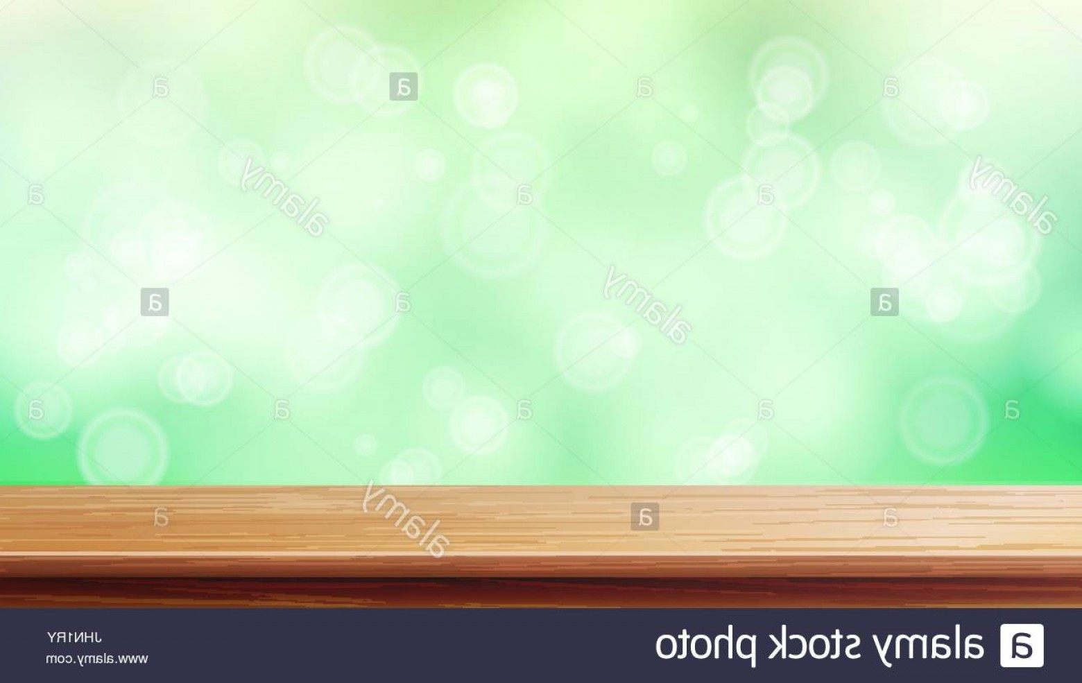 1560x985 Stock Photo Wood Table Top Vector Blur Spring Green Background