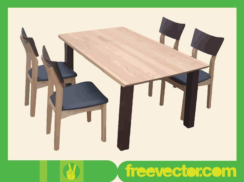 1024x765 Table And Chairs Vector Art Amp Graphics