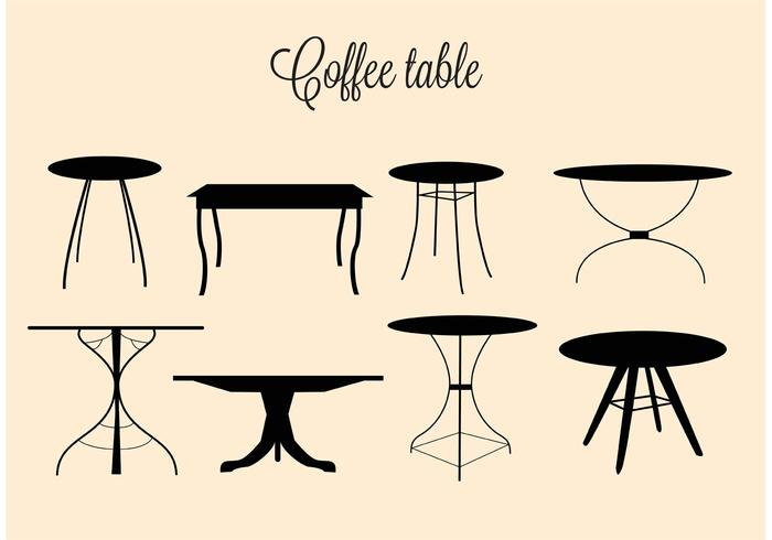 700x490 Free Vector Coffee Tables