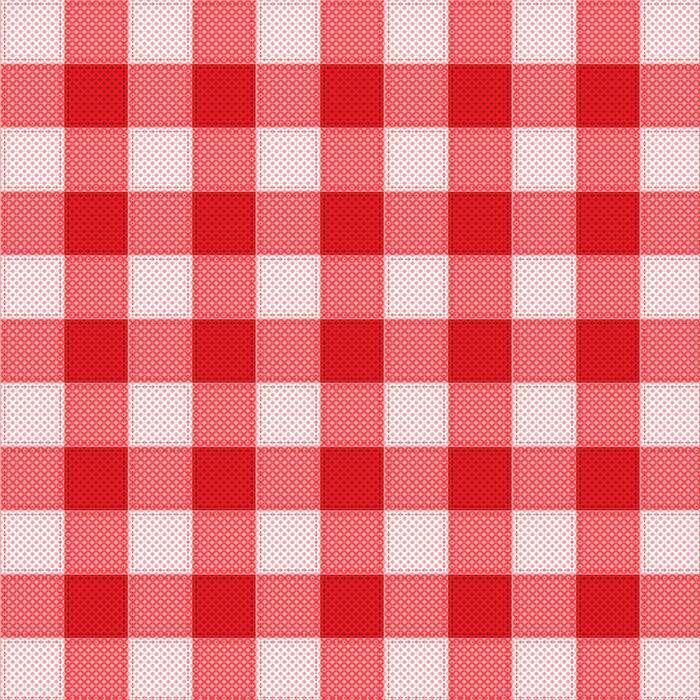 700x700 Pattern Picnic Tablecloth Vector Wall Mural We Live To