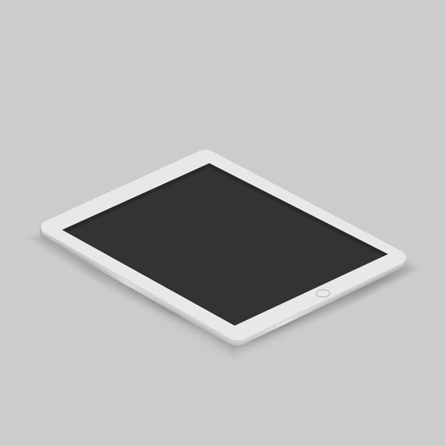 626x626 Vector Of Digital Tablet Icon Vector Free Download