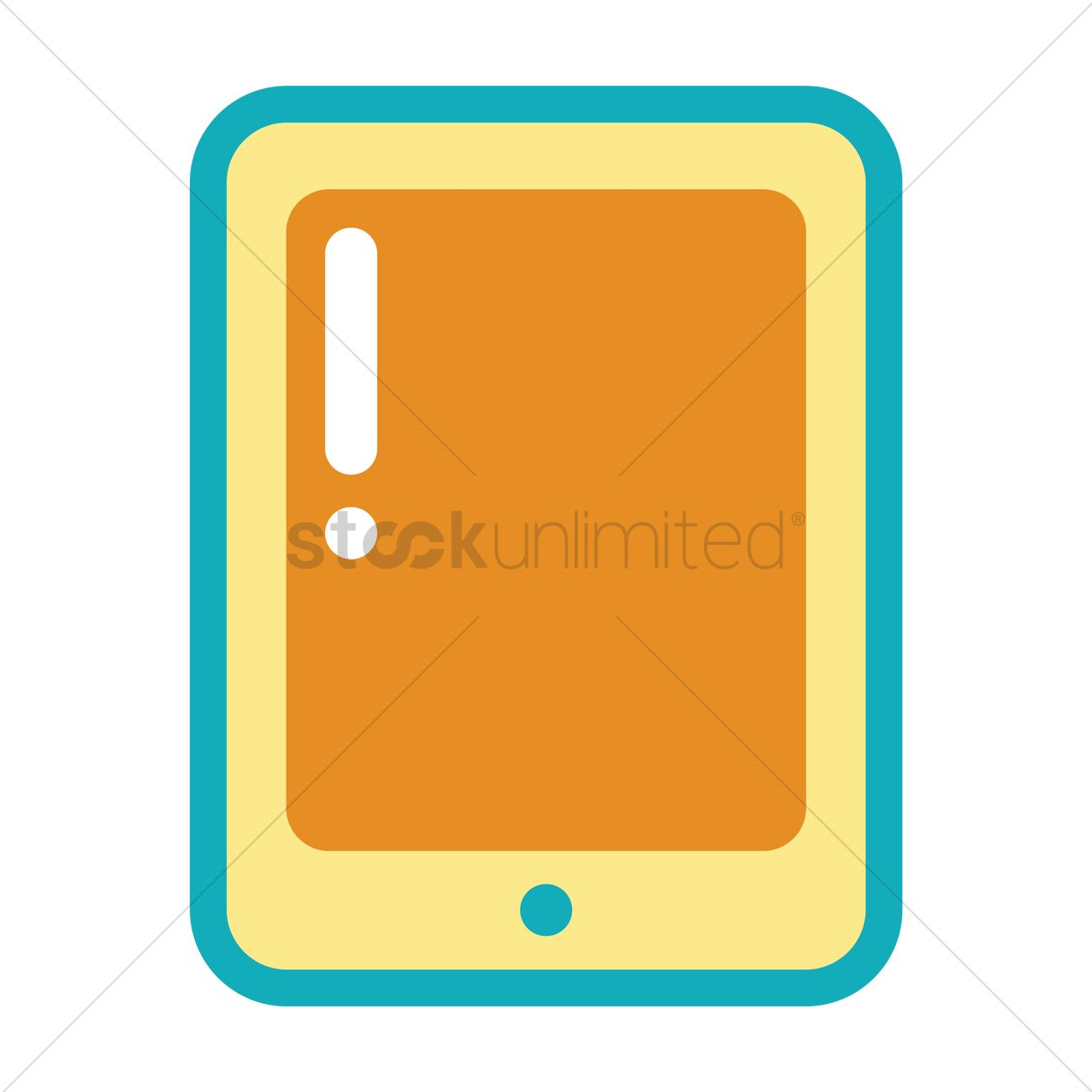 1300x1300 Digital Tablet Icon Vector Image