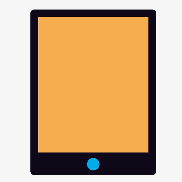 595x595 Vector Flat Tablet, Tablet, Vector Tablet, Handheld Pc Png And