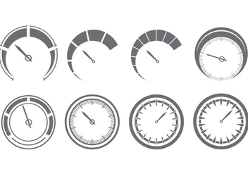 352x247 Tachometer Indicator Icons Set Free Vector Download 390471 Cannypic