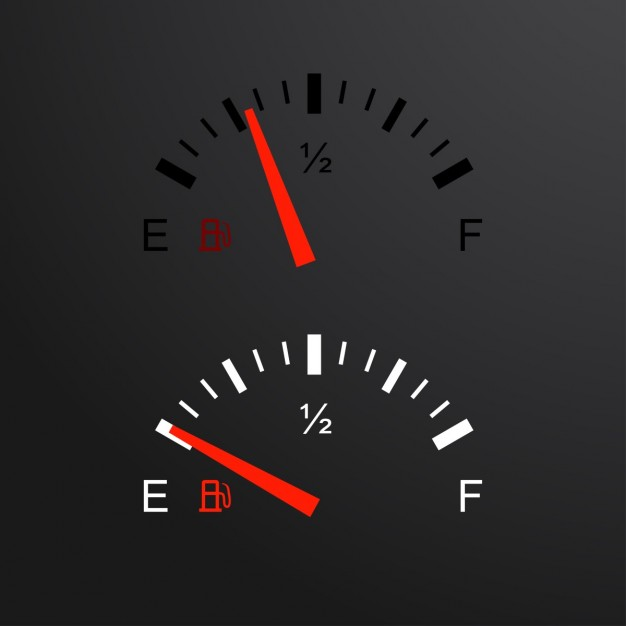 626x626 Tachometer And Fuel Gauge Vector Free Download