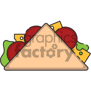 300x300 Royalty Free Taco Vector Royalty Free Icon Art 405391 Icon